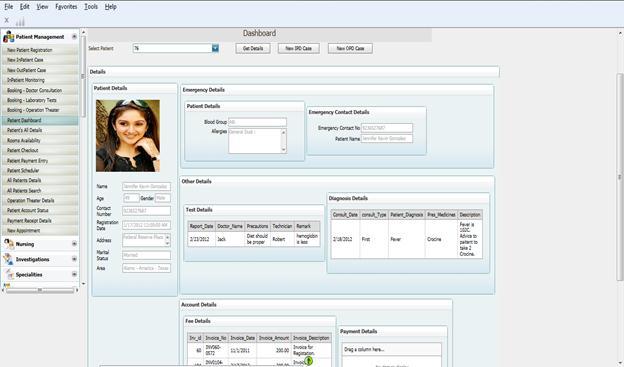Hospital management system (HMS) - Hospital Administration system